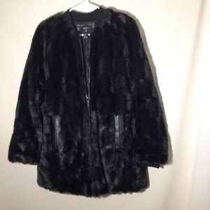 NWOT Faux Fur Coat
